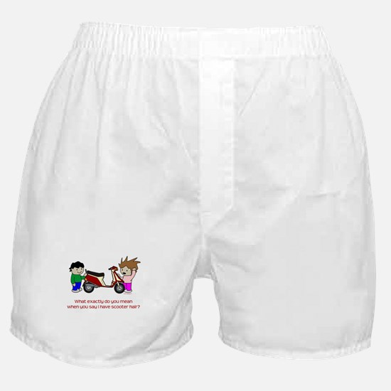 Scooter Hair Boxer Shorts