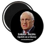 """Cheney Lipstick"" 2.25"" Magnet (100"