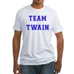 Team Twain Fitted T-Shirt