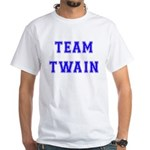 Team Twain White T-Shirt