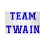 Team Twain Rectangle Magnet
