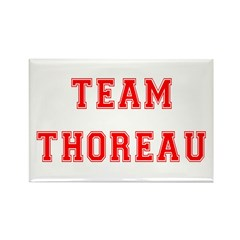 Team Thoreau Rectangle Magnet (100 pack)