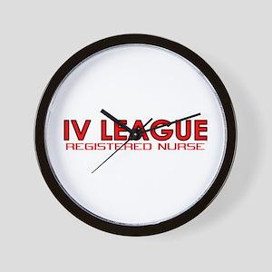 IV League Nurse Wall Clock