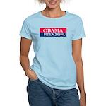 """Obama-Biden"" Women's Pink T-Shirt"