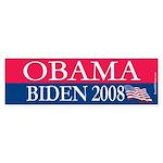 """""""Obama-Biden"""" Bumper Sticker (10)"""