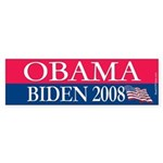 """""""Obama-Biden"""" Bumper Sticker (50)"""