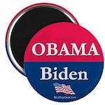 """Obama-Biden"" 2.25"" Magnet (10)"