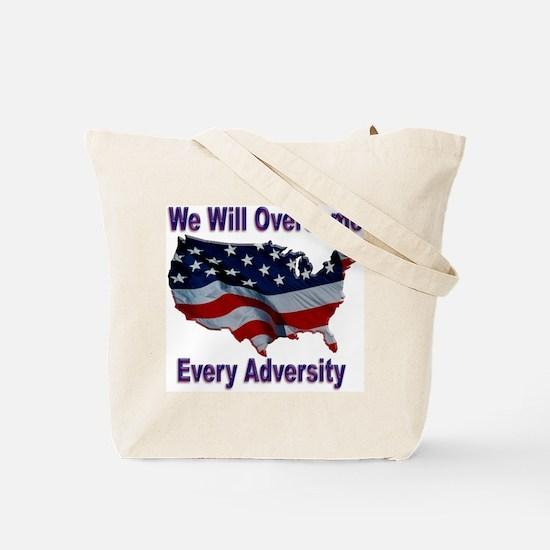Overcome Adversity Tote Bag