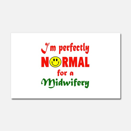 I'm perfectly normal for a Midw Car Magnet 20 x 12