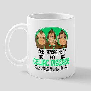 See Speak Hear No Celiac Disease 1 Mug