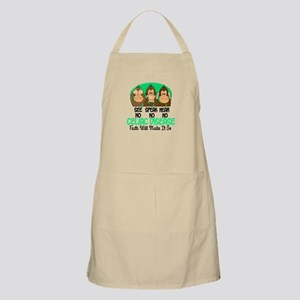 See Speak Hear No Celiac Disease 1 BBQ Apron