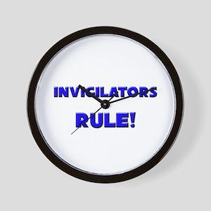 Invigilators Rule! Wall Clock