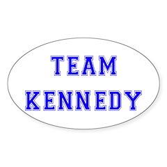 Team Kennedy Oval Decal