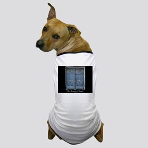 Blue Entrance Dog T-Shirt