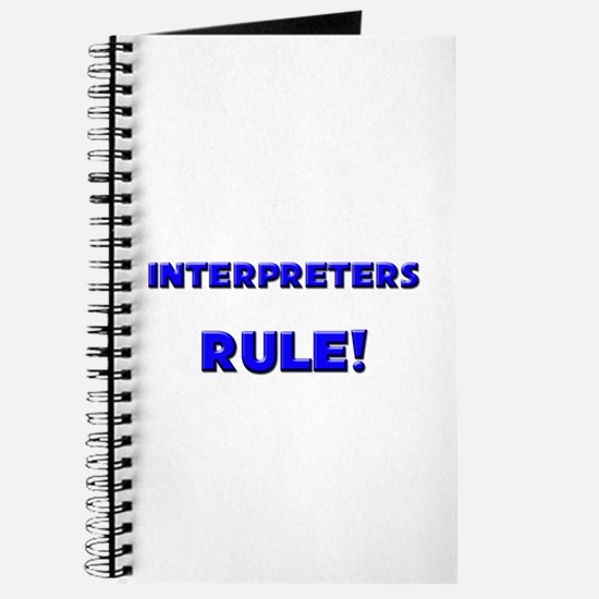 Interpreters Rule! Journal