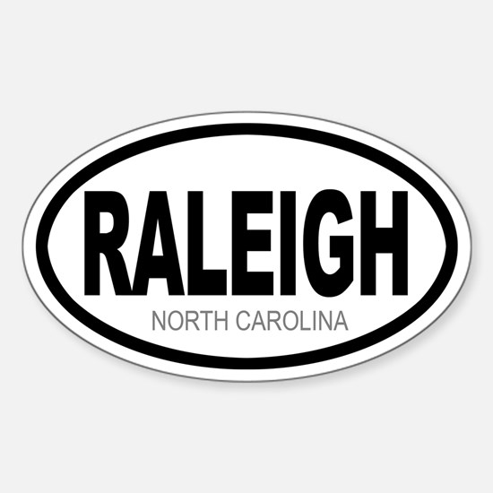 'RALEIGH' Oval Decal