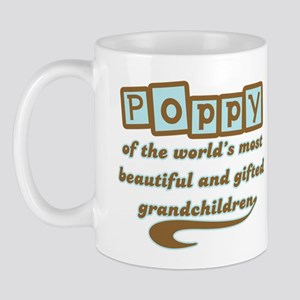 Poppy of Gifted Grandchildren Mug