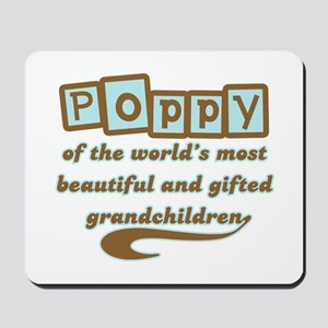 Poppy of Gifted Grandchildren Mousepad