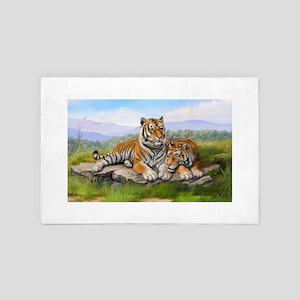 Tigers 4' x 6' Rug