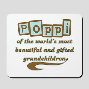 Poppi of Gifted Grandchildren Mousepad