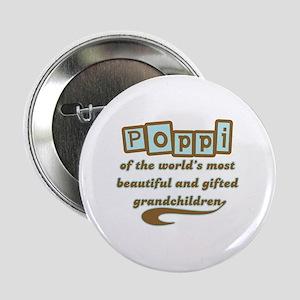 """Poppi of Gifted Grandchildren 2.25"""" Button"""