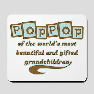 PopPop of Gifted Grandchildren Mousepad