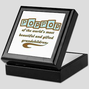 PopPop of Gifted Grandchildren Keepsake Box