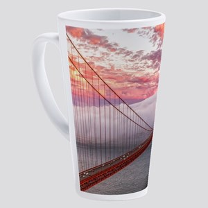 Golden Gate Bridge 17 oz Latte Mug