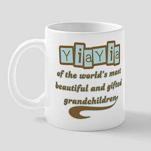 YiaYia of Gifted Grandchildren Mug