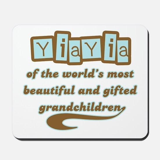 YiaYia of Gifted Grandchildren Mousepad