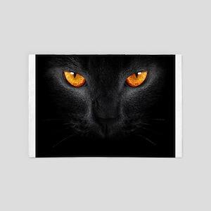 Black Cat 4' x 6' Rug