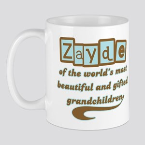 Zayde of Gifted Grandchildren Mug