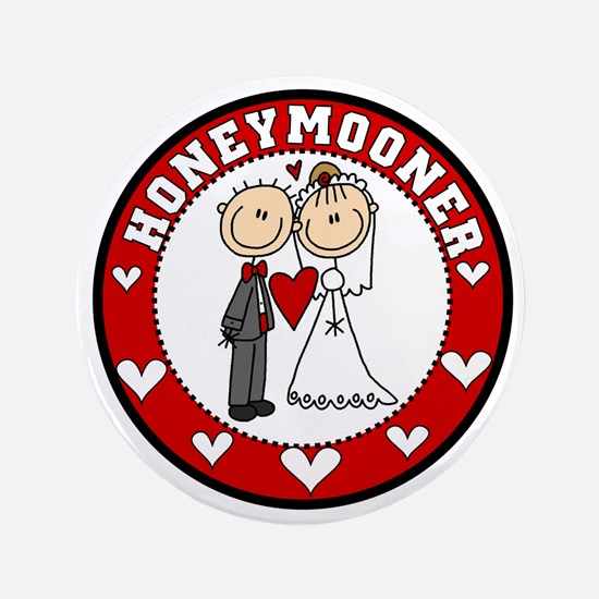 "Honeymooner 3.5"" Button"