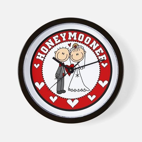 Honeymooner Wall Clock