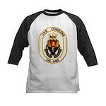 USS CUSHING Kids Baseball Jersey