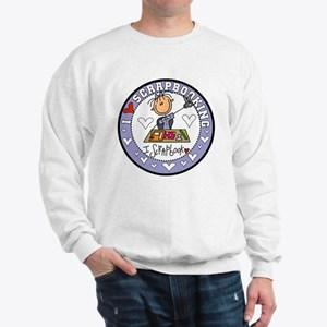 I Love Scrapbooking Sweatshirt