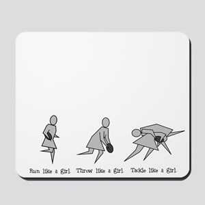 Run Like a Girl... Mousepad