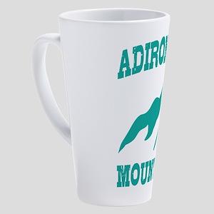 Adirondack Mountains 17 oz Latte Mug