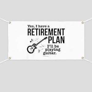 Guitar Retirement Plan Banner