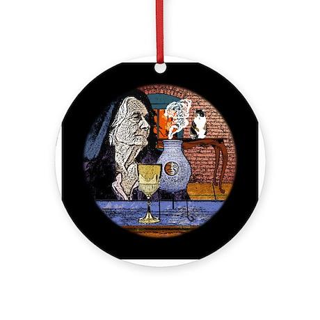 Witchy Woman Keepsake (Round)