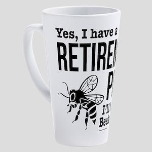 Beekeeping Retirement 17 oz Latte Mug