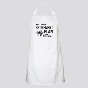Beekeeping Retirement Light Apron
