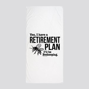 Beekeeping Retirement Beach Towel