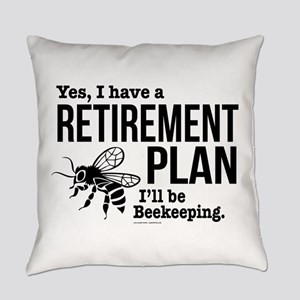 Beekeeping Retirement Everyday Pillow
