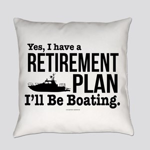 Boating Retirement Everyday Pillow