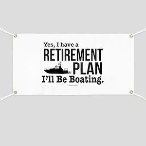 Boating Retirement Banner