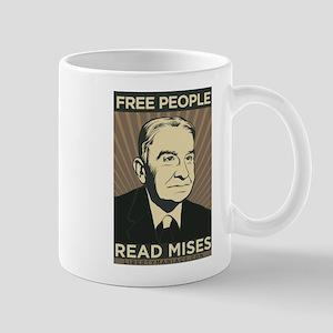 Free People Read Mises Mug