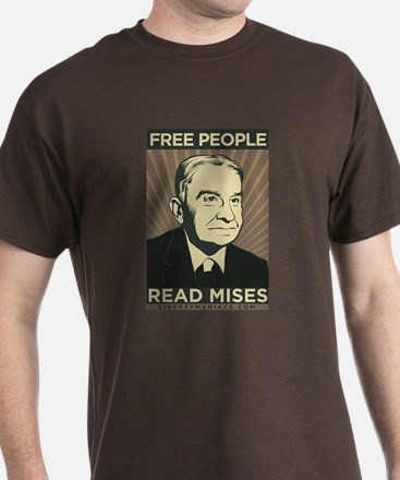 Free People Read Mises T-Shirt