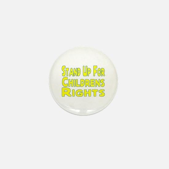 Childrens Rights Mini Button