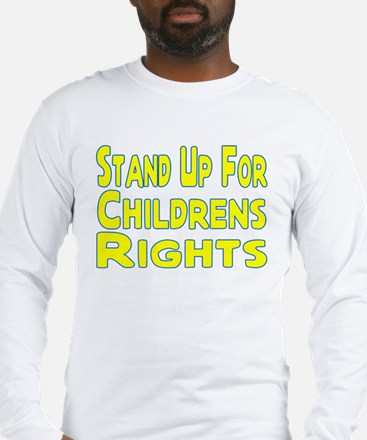 Childrens Rights Long Sleeve T-Shirt